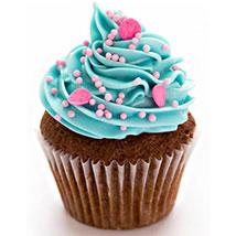 Blue & Pink Fantasy Cupcakes