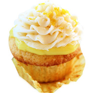 6 Lemon Surprice Cupcakes