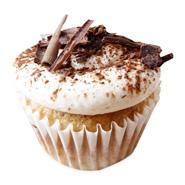6 Tiramisu Trifle Cupcakes