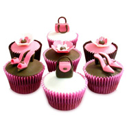 6 Girlie Special Cupcakes