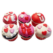 12 Valentine Special Cupcakes