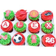 12 Football Special Cupcakes
