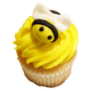 12 Maya The Bee Special Cupcakes