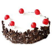 1kg Special Black Forest Eggless Cake