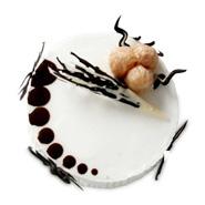1kg Lychee Gateau Eggless Cake