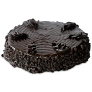 1kg Eggless Chocolate Chip Cake