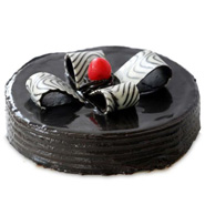 1kg Eggless Chocolate Fantasy Cake