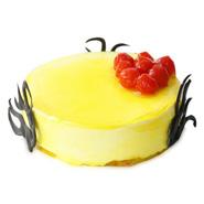 1kg Eggless Lemon Tart Cake