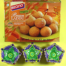 Diwali with Besan Laddu