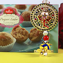 Panjeeri Laddu with Ganesh Hanging