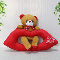 Brown Lip Bear - 21 cm