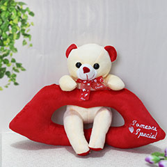 Cute Lip Bear - 21 cm