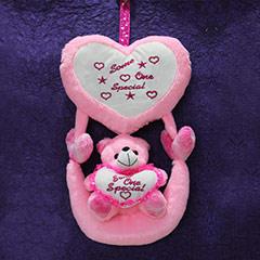 Pink Hanging Bear - 40 cm