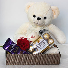 Cute & Hearty Gift Basket
