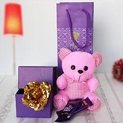 Pink & Purple Present