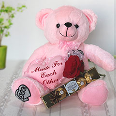 Made for Each Other Teddy Hamper