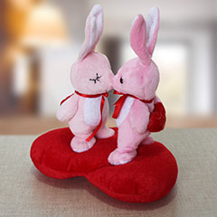 Kissing Soft Toy Couple