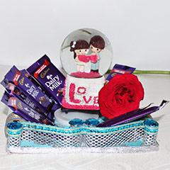 A Romantic Present