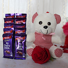 Teddy n Chocolate Love