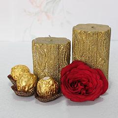 Golden n Red Combo