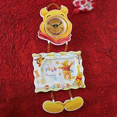Pooh Photo Frame & Wall Clock