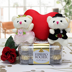 Teddy Couple Hamper