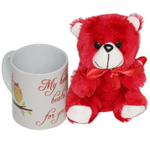 Red Furry Teddy