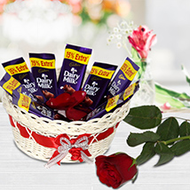 Romantic Basket of Love
