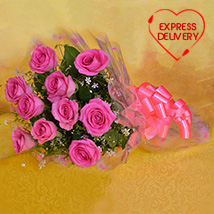 Charming Pink Blooms