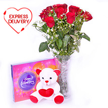 Cute n Rosy Hamper