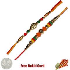 Set of 2 Beaded Rakhi /></a></div><div class=