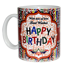 Cute Happy Birthday Mug