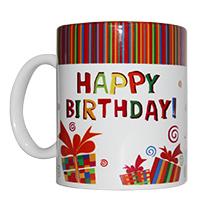 Colourful Birthday Mug