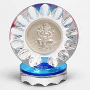 Acrylic Silver Ganesh