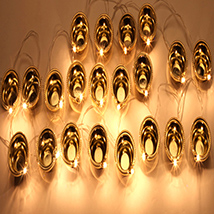 21 Golden Diyas Trail Light