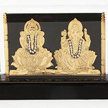LM 2217 Gold  Laxmi Ganesh
