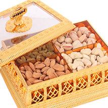 Golden Window Multipurpose Dryfruit Box