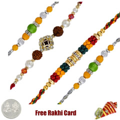 Set of 4 Fancy Rakhi /></a></div><div class=
