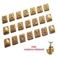 Ganpati Bappa Morya Chocolates