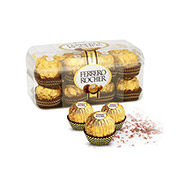 Delicious Box of 16 Pieces Ferrero Rocher Chocolates