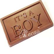 It's a Boy Sugarfree Chocolate Bar