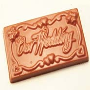 Our Wedding Sugarfree Chocolate