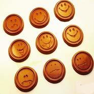 Smiley Face Sugarfree Chocolates