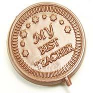 Set of 4 My Best Teacher Sugarfree Lollies