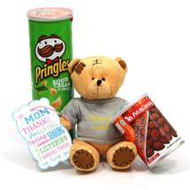 Teddy Almonds N Pringles