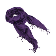 Peppy Purple Stole