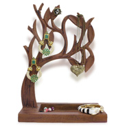 Gift Wooden Jewellery Tree
