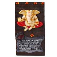 Wooden Ganesha Hanging