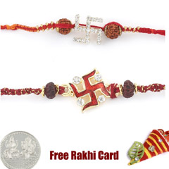 Jewelled Rakhi Set of 2 /></a></div><div class=