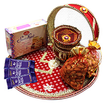 Mouth watering Karwa Chauth Hamper